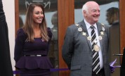 Deputy Mayor of Kirklees with Jo Ounsley.
